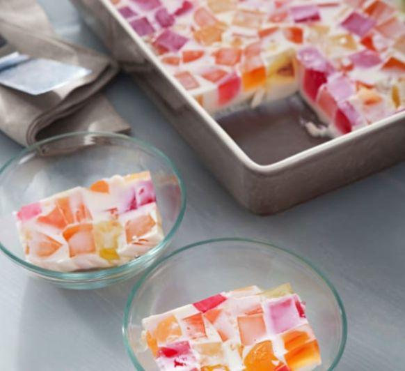 Como hacer postre de gelatina de colores con Thermomix®