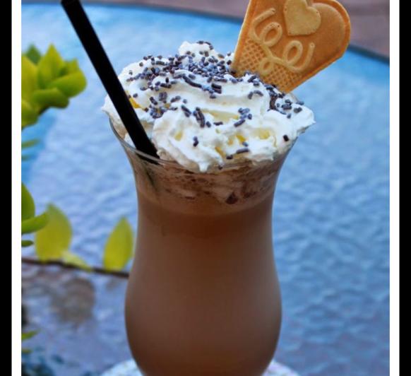 Granizado de cacao