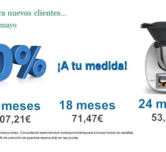 Thermomix® SIN INTERESES !!!