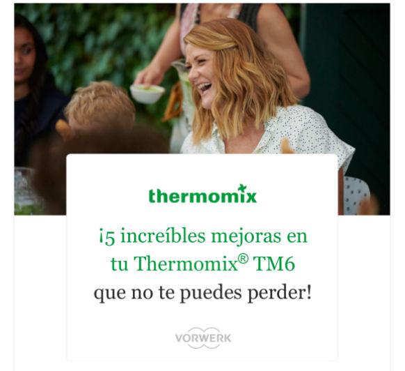 Novedades de tu Thermomix® Tm6