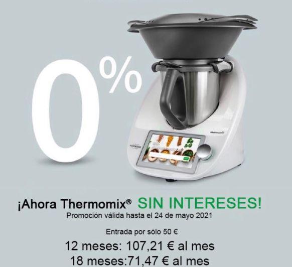 Thermomix® vuelve el 0%