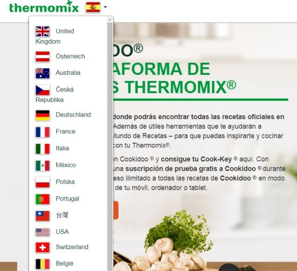 COOKIDOO - Plataforma de recetas de Thermomix® en 15 países