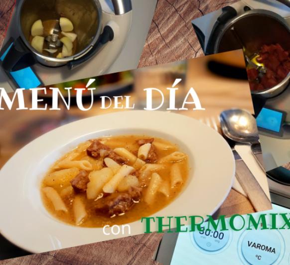 MENÚ ESTOFADO TERNERA 24 SEPTIEMBRE CON Thermomix®