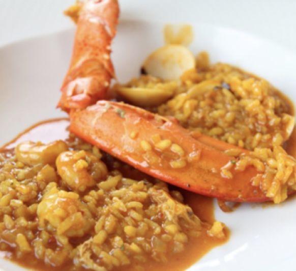Hoy una receta igual de deliciosas que original arroz con bogavante Thermomix® !!!!