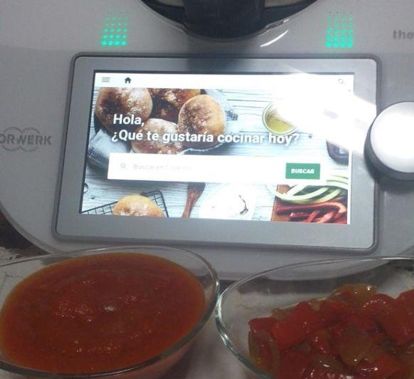 Tomate frito casero para Thermomix® TM6