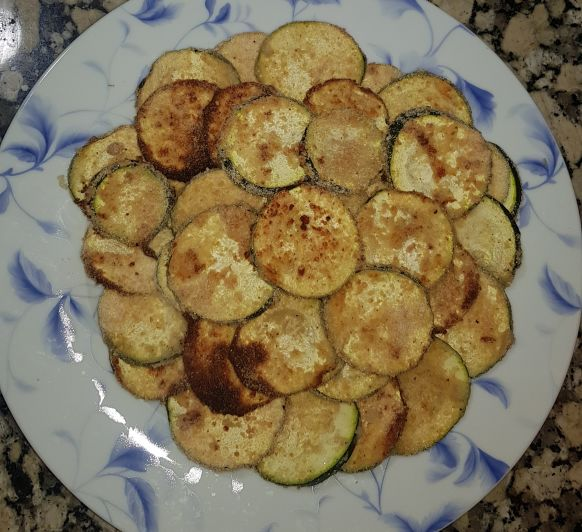 Chips de calabacín sin gluten. Thermomix® Badajoz Mérida Calamonte Villanueva Zafra Montijo Madrid España