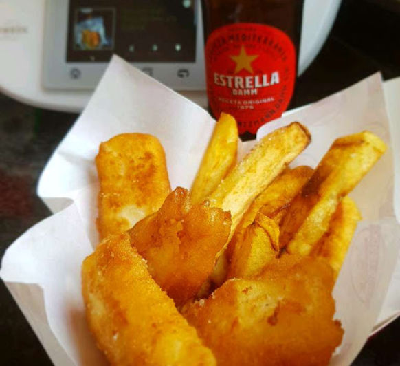 FISH AND CHIPS EN Thermomix®