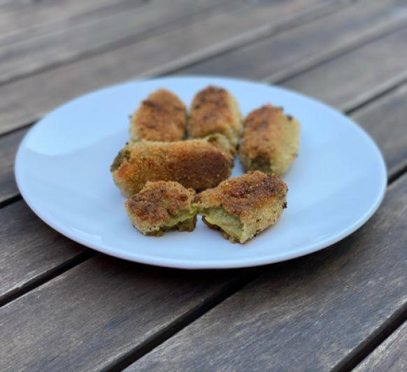 Croquetas de espinacas, setas y zanahoria con Thermomix®