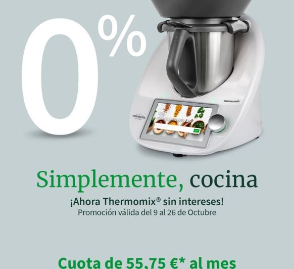 Thermomix® Promocion 0%