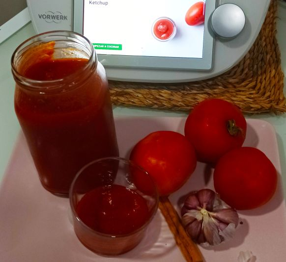 Ketchup Thermomix® Zafra