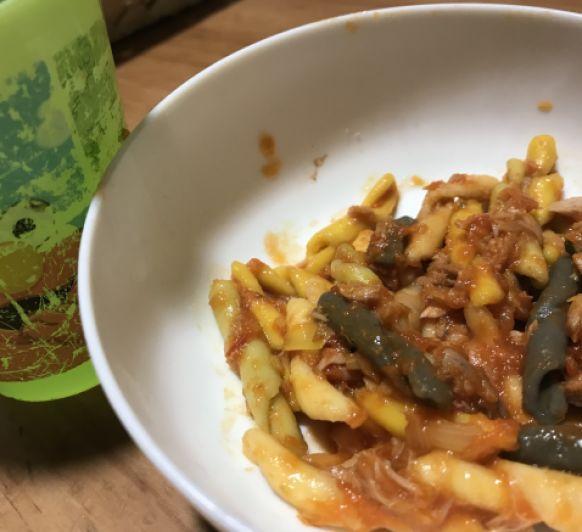 Salsa tomate para pasta especial niños