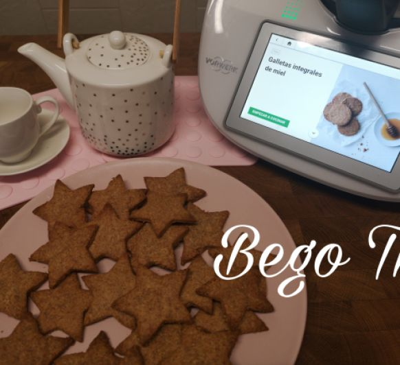 Galletas integrales de miel en Thermomix®