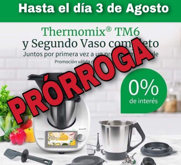 Thermomix® TM6 y Segundo Vaso Completo Promoción Valida del 7 al 27 de Julio