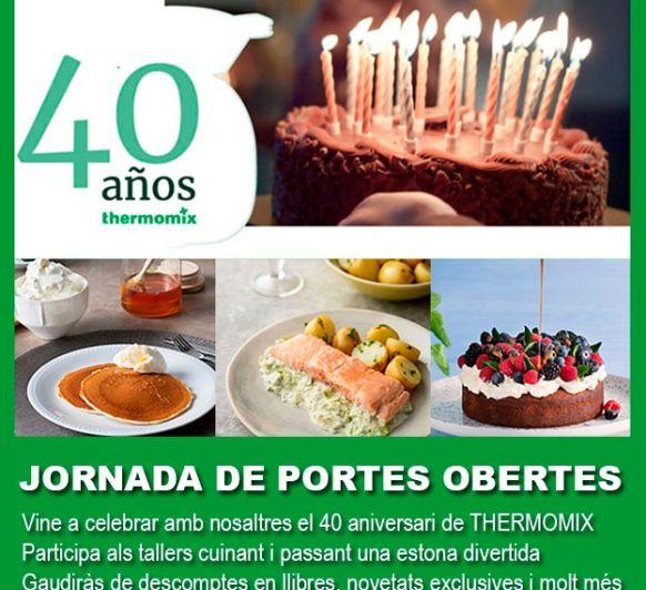 Celebra con nosotros el 40 aniversario Thermomix®
