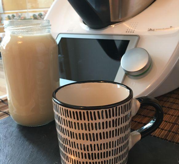 Leche condensada y leche condensada vegana con Thermomix®