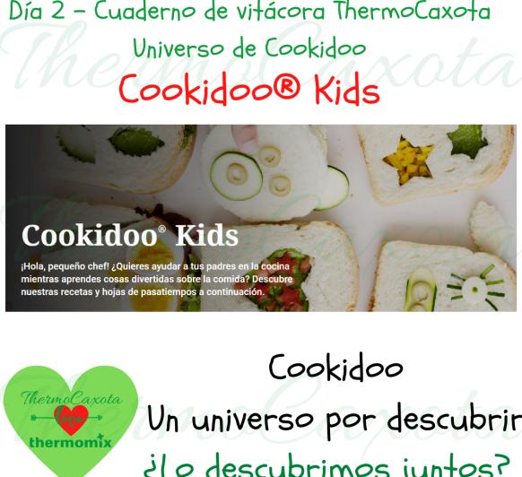 LOS PEQUES Y Thermomix® - COOKIDOO KIDS - La dieta del pequeño deportista