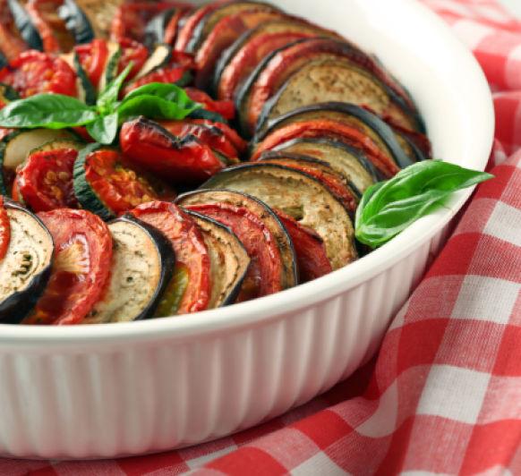 Ratatuille de verduras al horno con Thermomix®