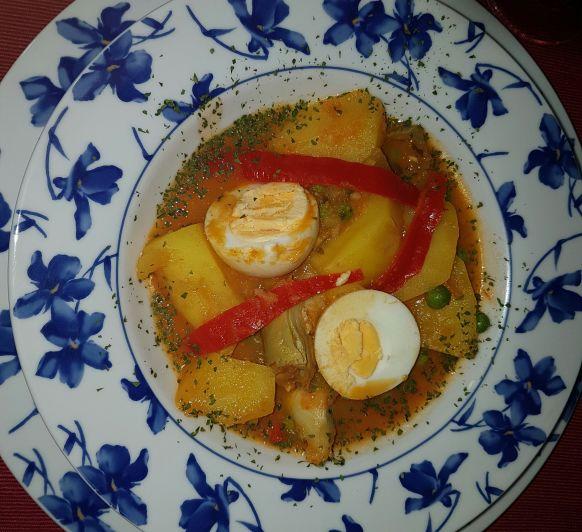 Patatas. Un plato maravilloso de otoño.