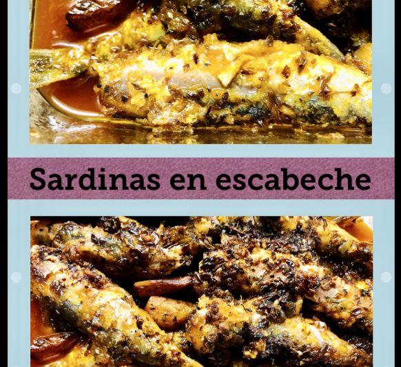 Sardinas en escabeche con Thermomix®