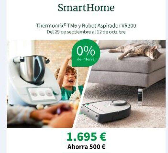 Nueva Thermomix® TM6 Edición SmartHome
