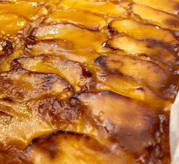 Tarta de manzana by Cristina con thūermomix