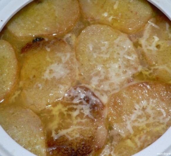 Mi sopa de cebolla con Thermomix®