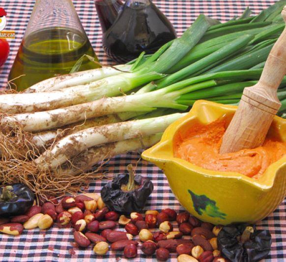 Com fer salsa de calçots amb Thermomix® / Como hacer salsa de calçots con Thermomix®