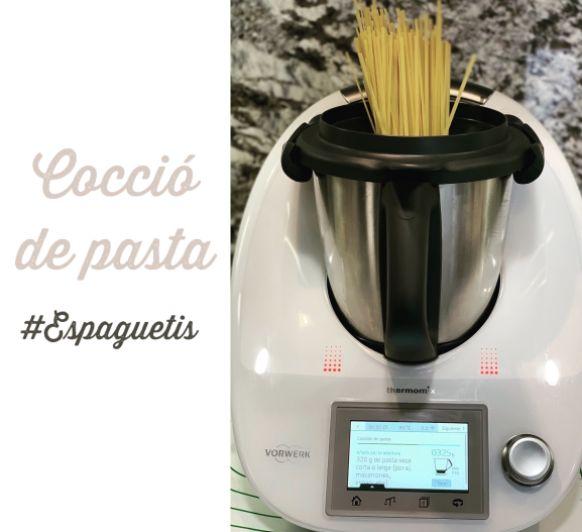 Cocción de pasta con Thermomix®