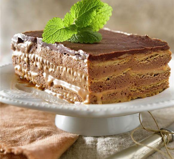 TARTA DE GALLETAS Y CHOCOLATE EN Thermomix®