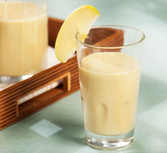 Como hacer smoothie de manzana, plátano, piña y canela con Thermomix®