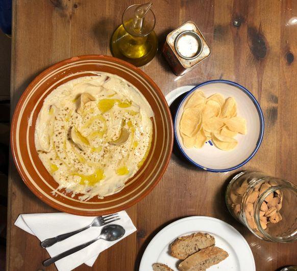 Hummus (puré de garbanzos árabe)