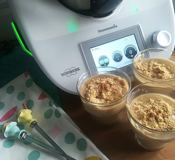 Crema de galletas con canela de ceylan